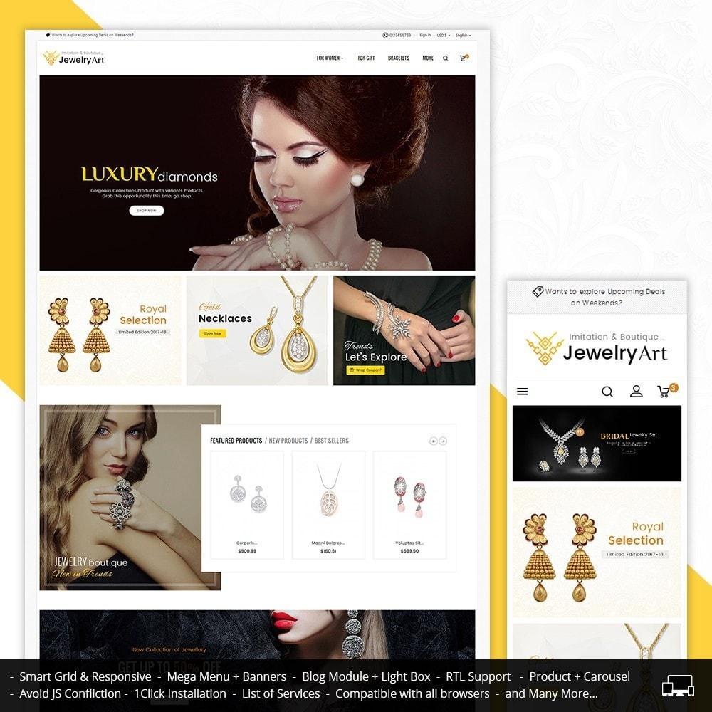 theme - Joalheria & Acessórios - Jewelry Art - 1