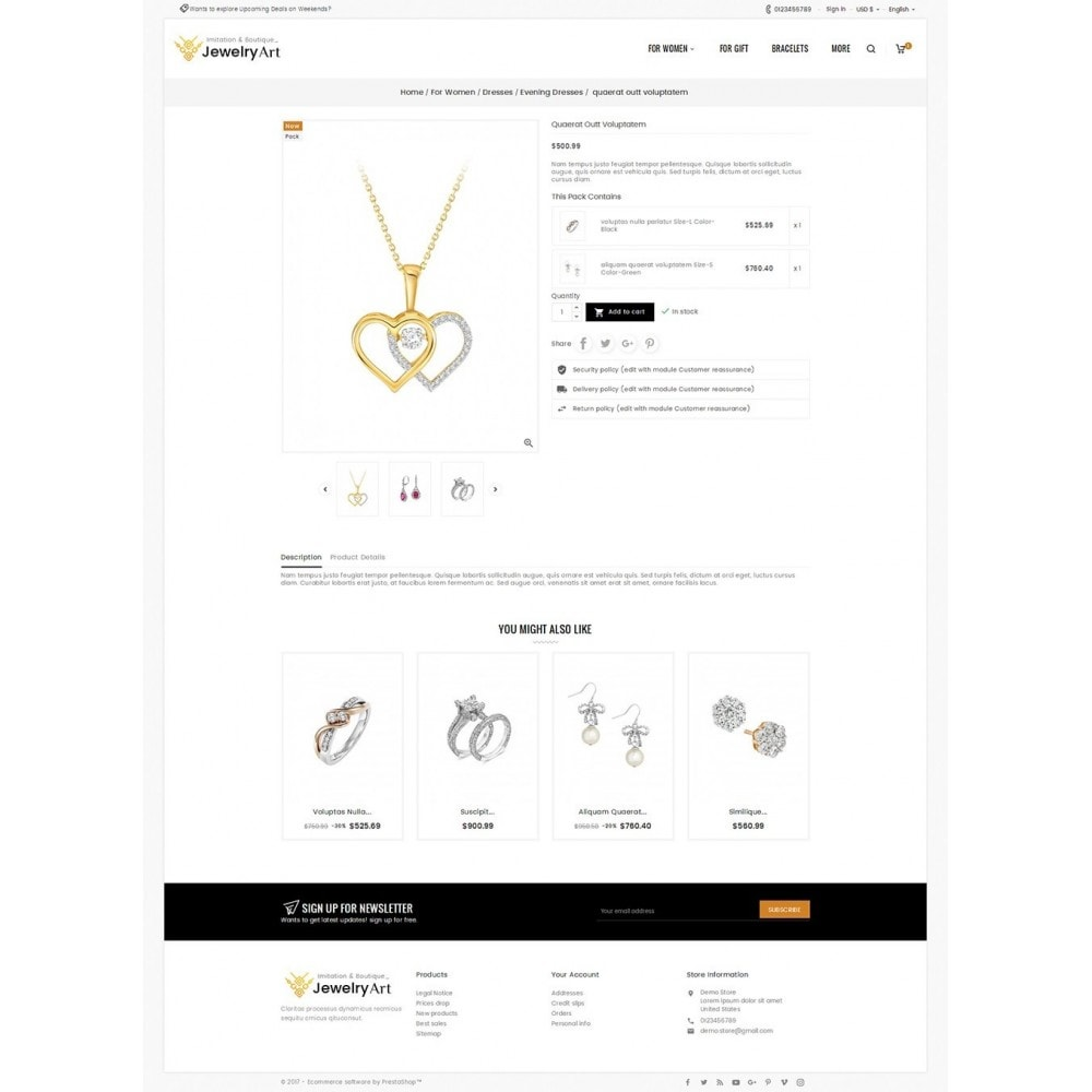 theme - Joalheria & Acessórios - Jewelry Art - 5