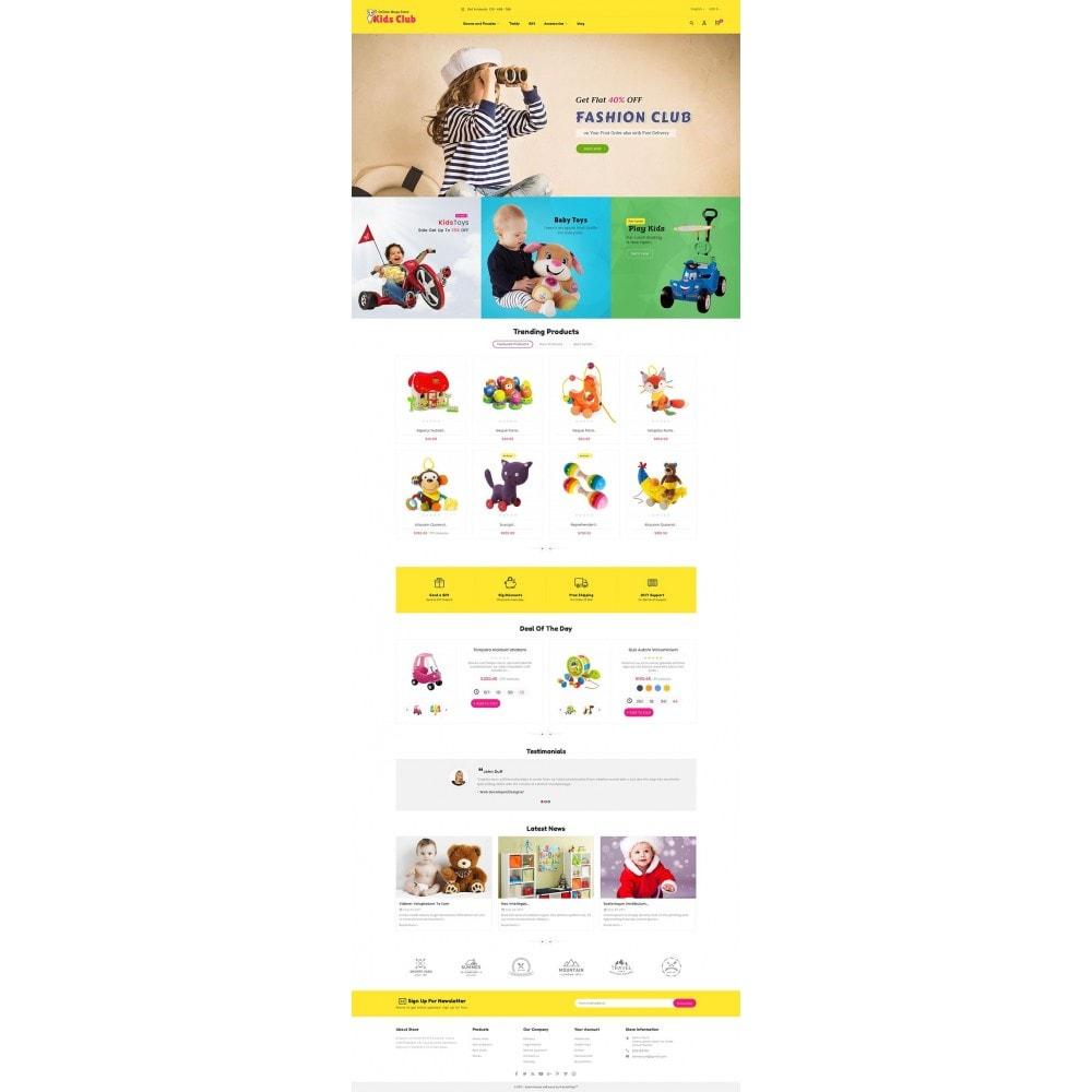 theme - Crianças & Brinquedos - Kids Toy Club - 2