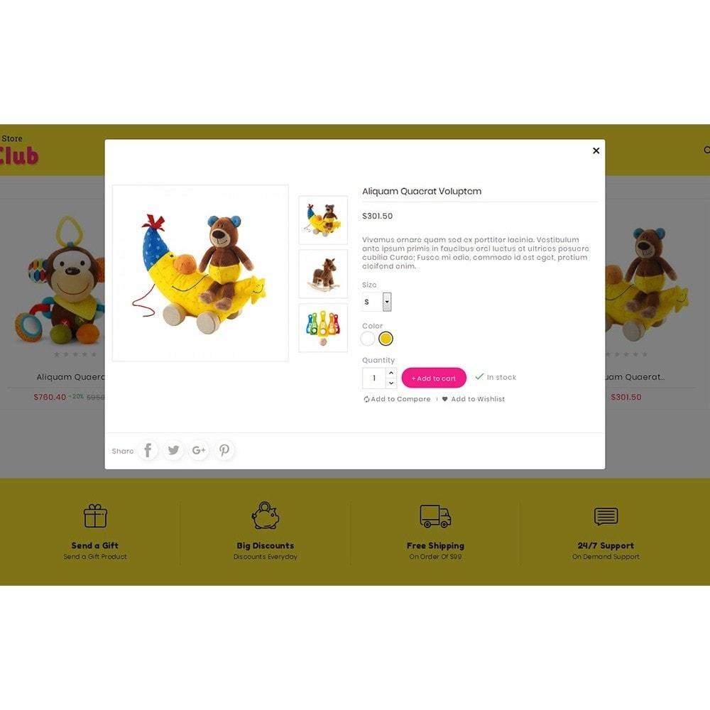 theme - Crianças & Brinquedos - Kids Toy Club - 8