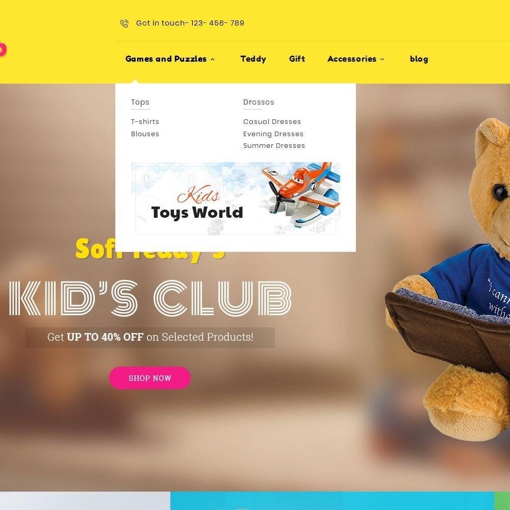 theme - Crianças & Brinquedos - Kids Toy Club - 9