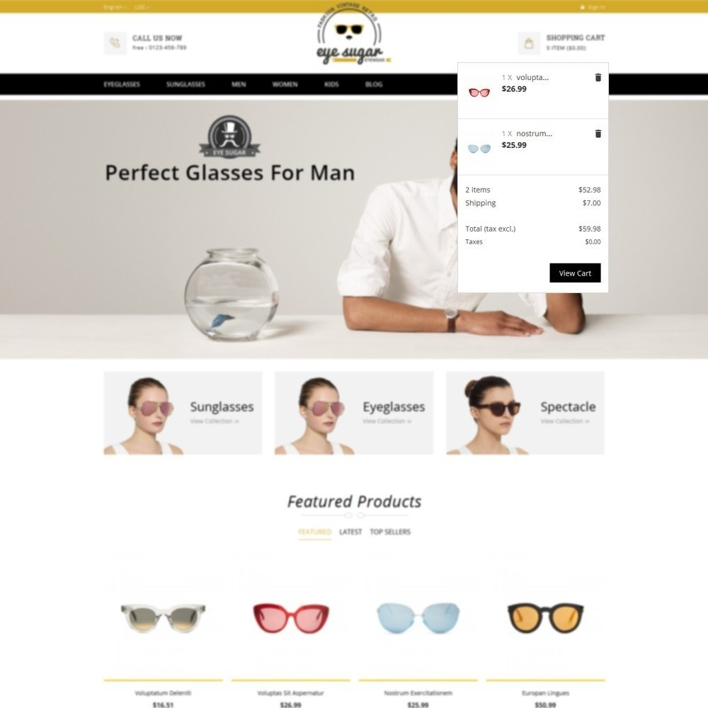 theme - Mode & Schoenen - EyeSugar Store - 8