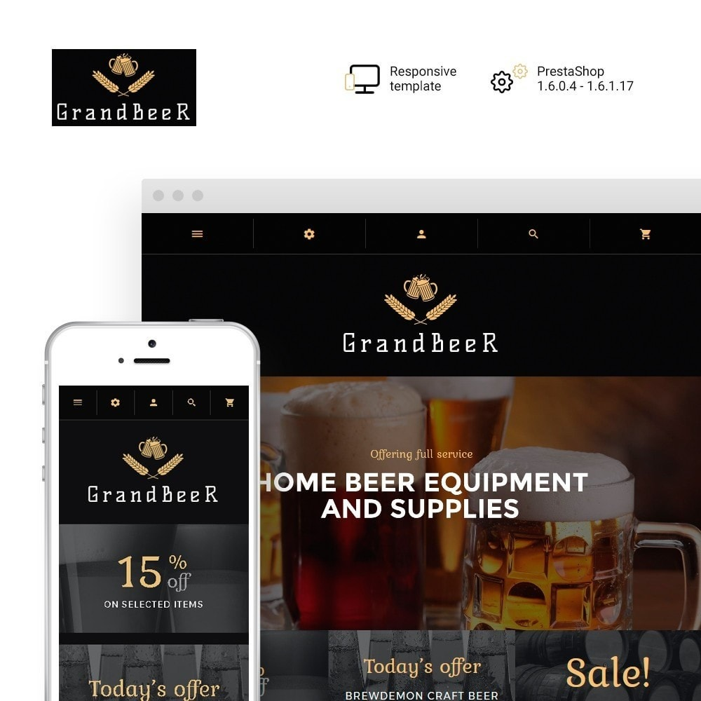 theme - Drink & Tobacco - GrandBeer - 1