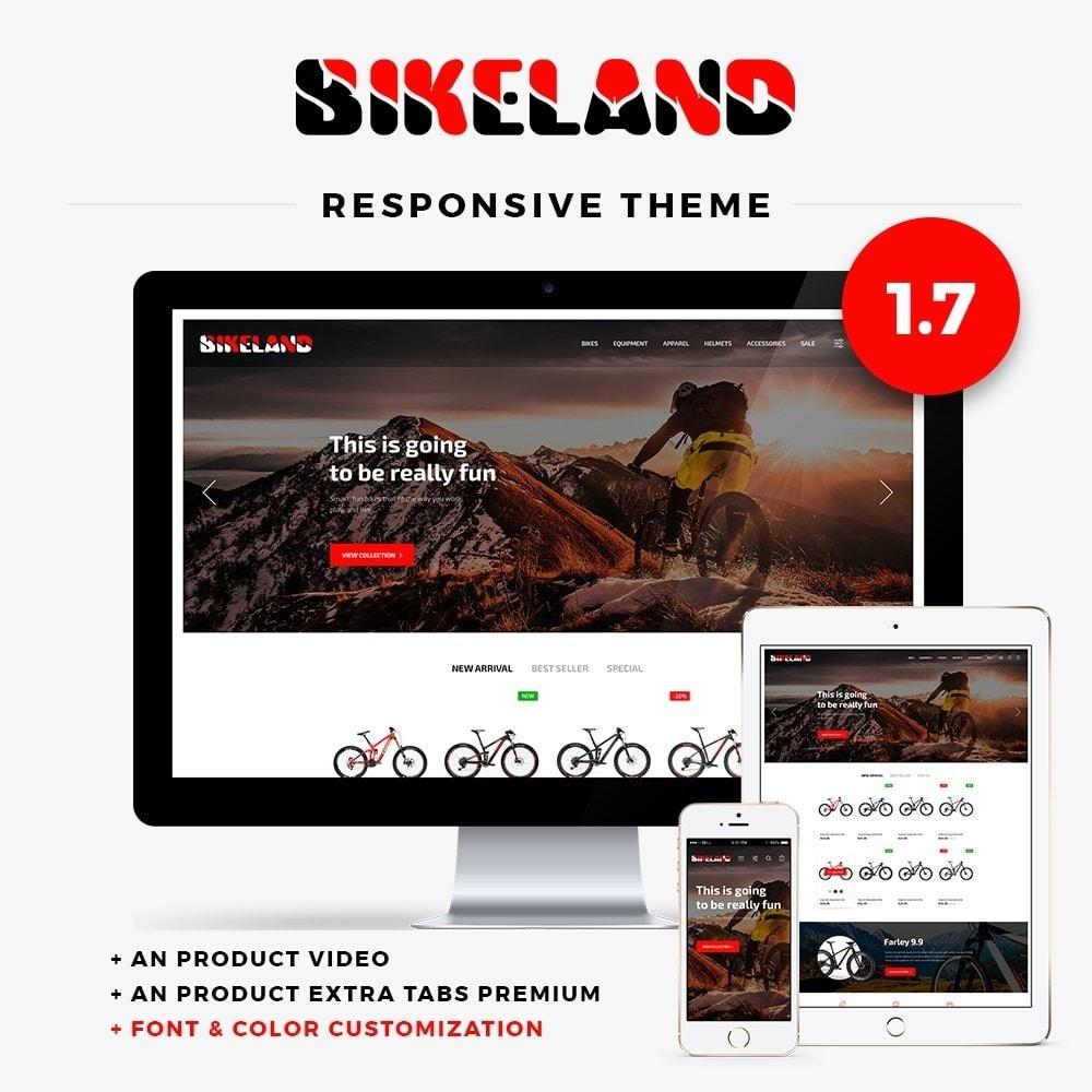 theme - Sport, Rozrywka & Podróże - Bikeland - 1