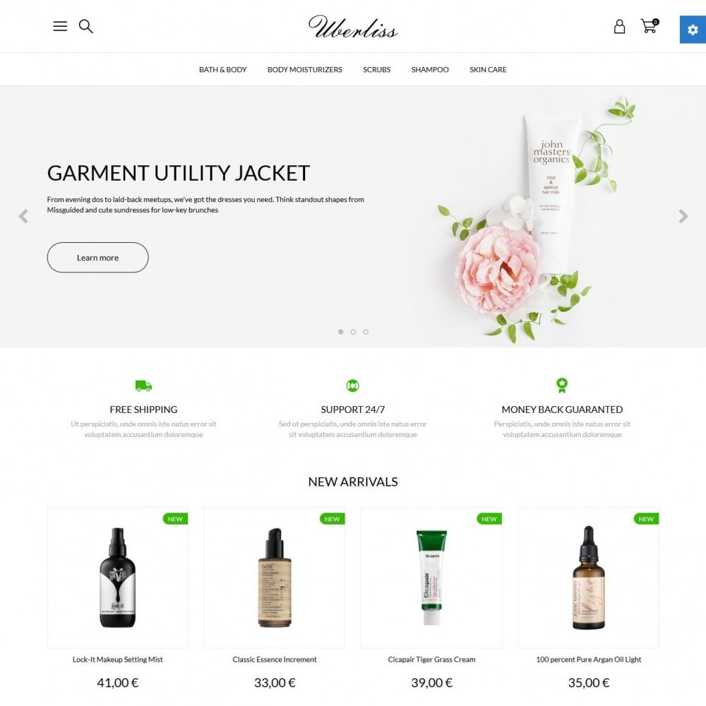 theme - Health & Beauty - Uberliss Cosmetics - 2
