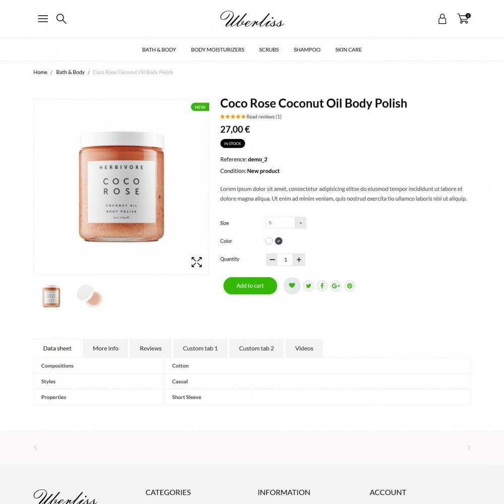 theme - Health & Beauty - Uberliss Cosmetics - 5