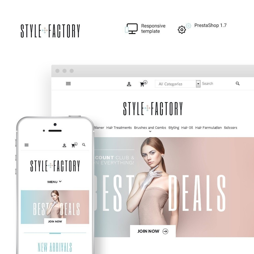 theme - Salute & Bellezza - StyleFactory - 1