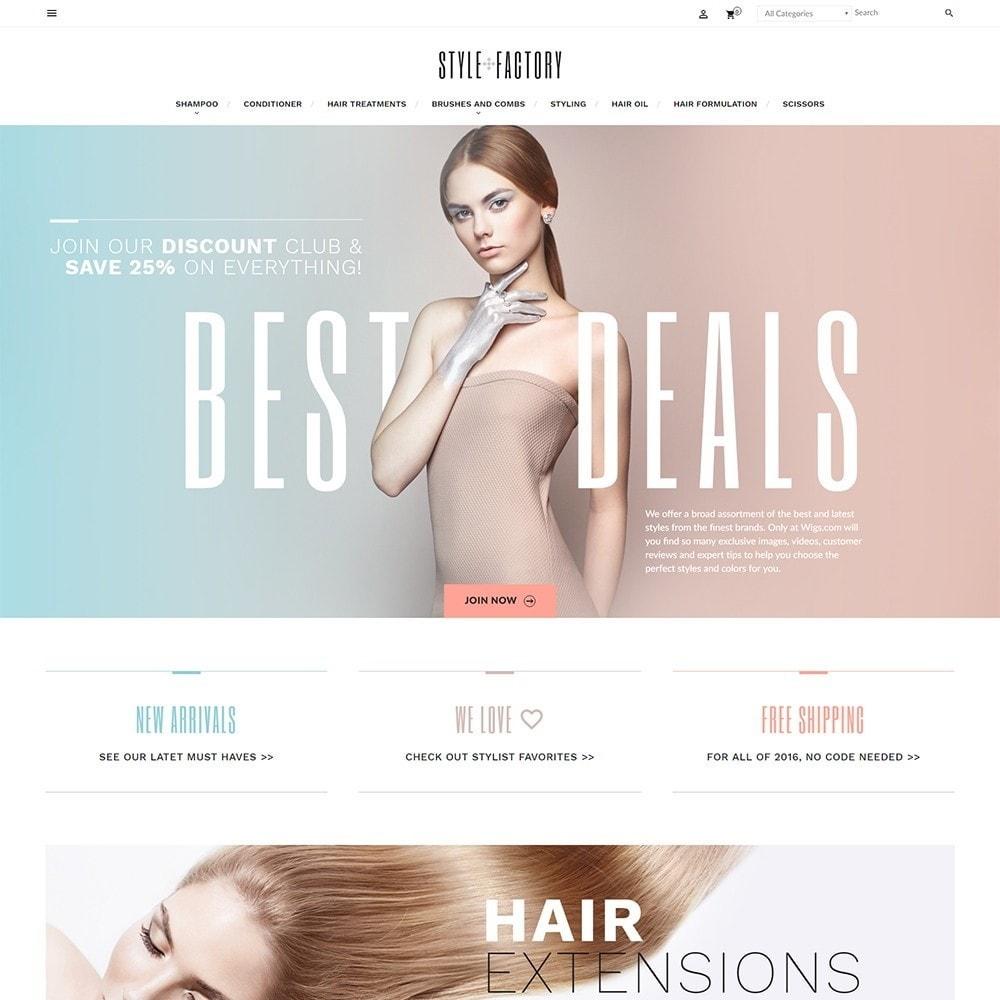 theme - Health & Beauty - StyleFactory - 2