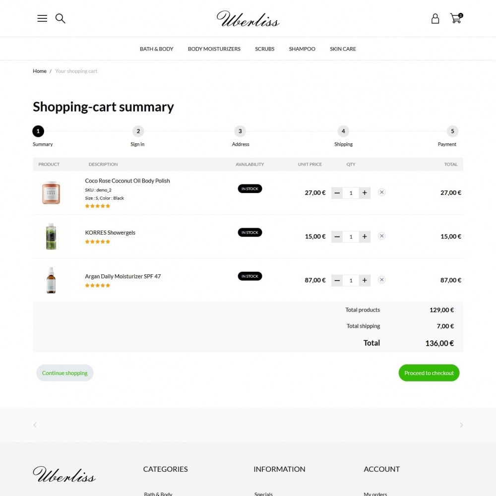 theme - Health & Beauty - Uberliss Cosmetics - 9