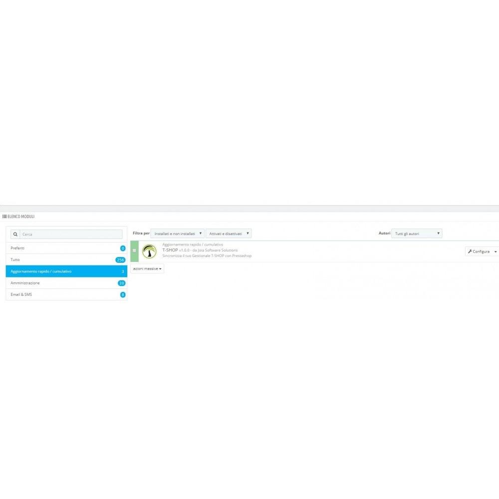 module - Data Import & Export - Importazione Completa da T-Shop a Prestashop - 5