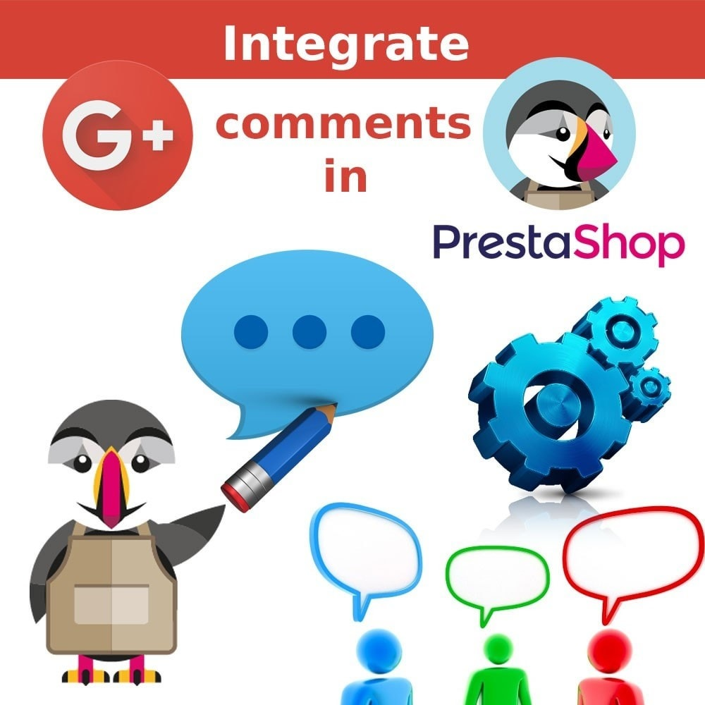 module - Prodotti sui Facebook & Social Network - Google Plus Comments on your Product page. - 1
