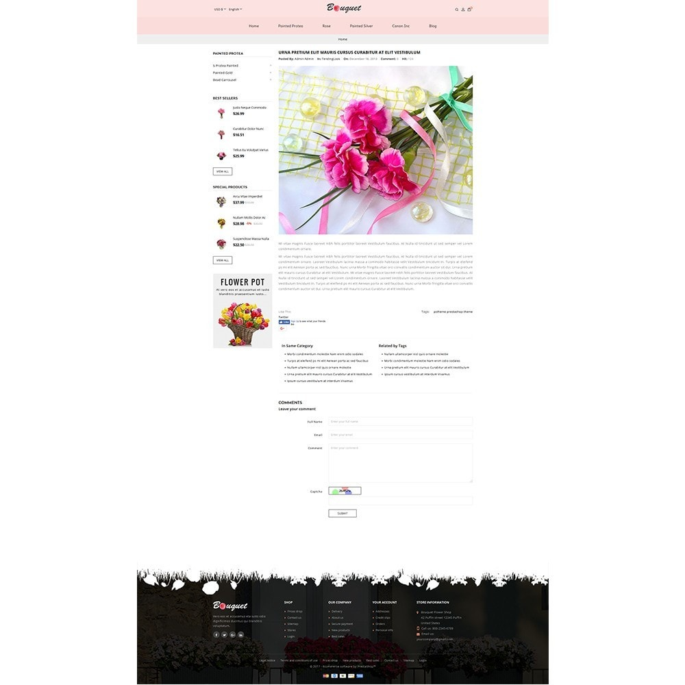 theme - Heim & Garten - Bouquet Flower Shop - 8