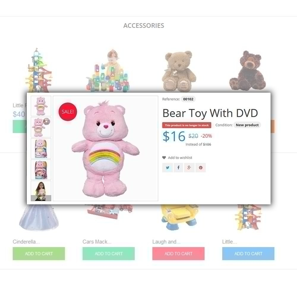 theme - Enfants & Jouets - Toys Store - 4