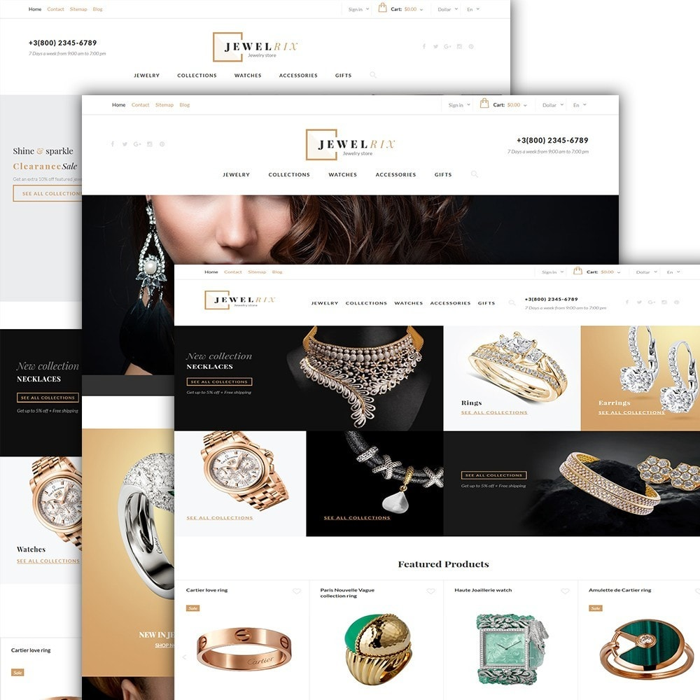 theme - Mode & Schoenen - Jewelrix 1.6 - 2