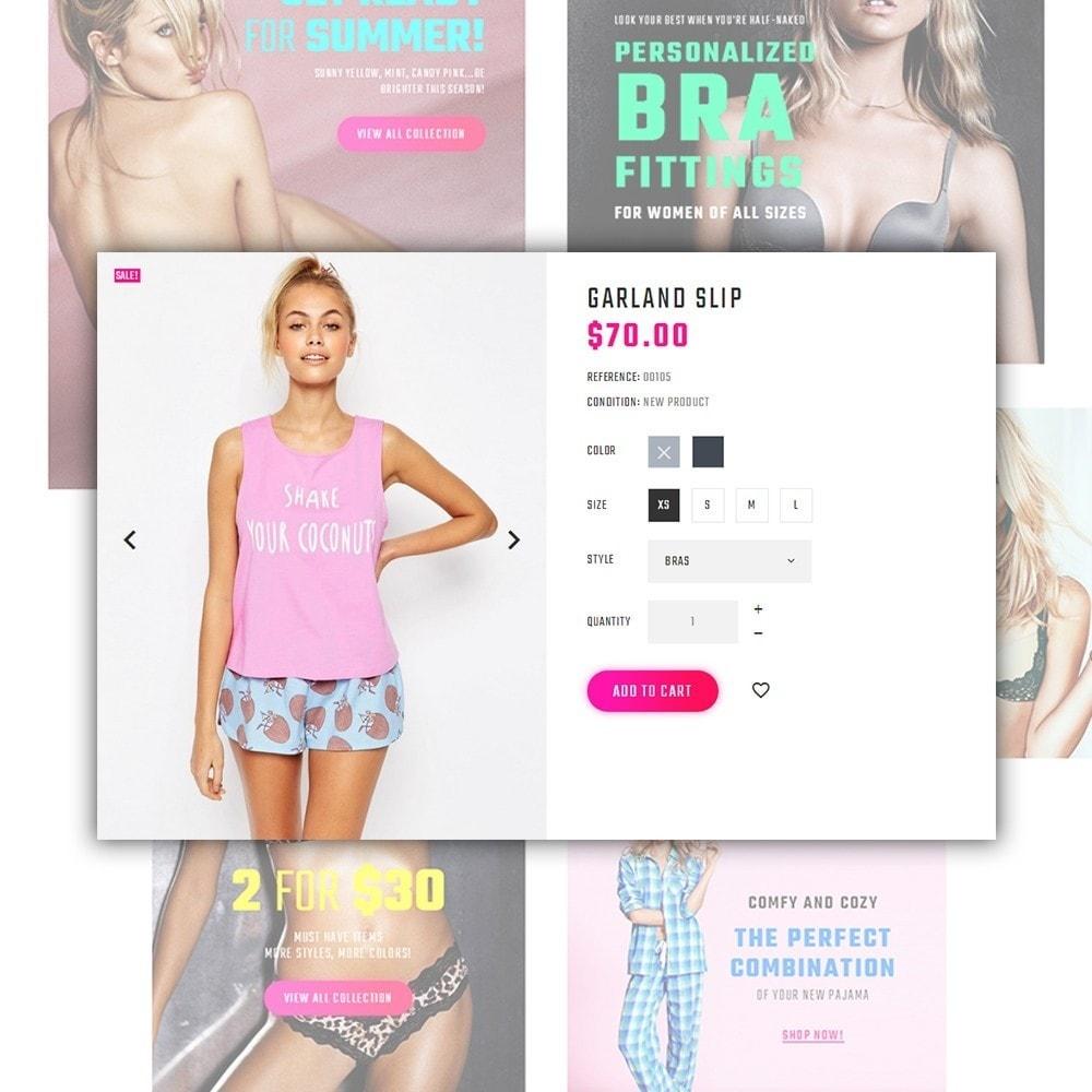 theme - Mode & Chaussures - Paltirea - magasin de lingerie thème - 4