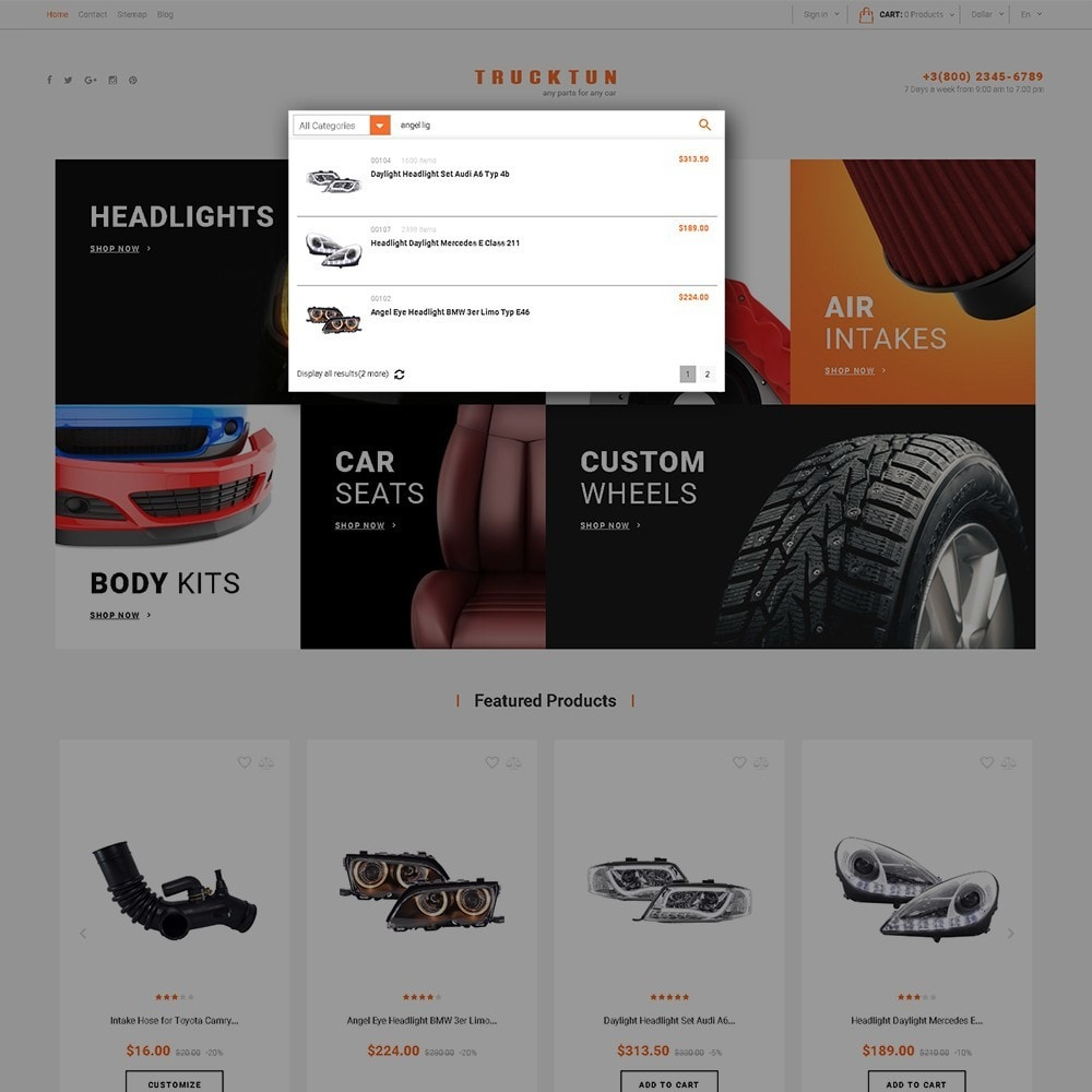 theme - Automotive & Cars - Trucktun - Parts for Cars - 6