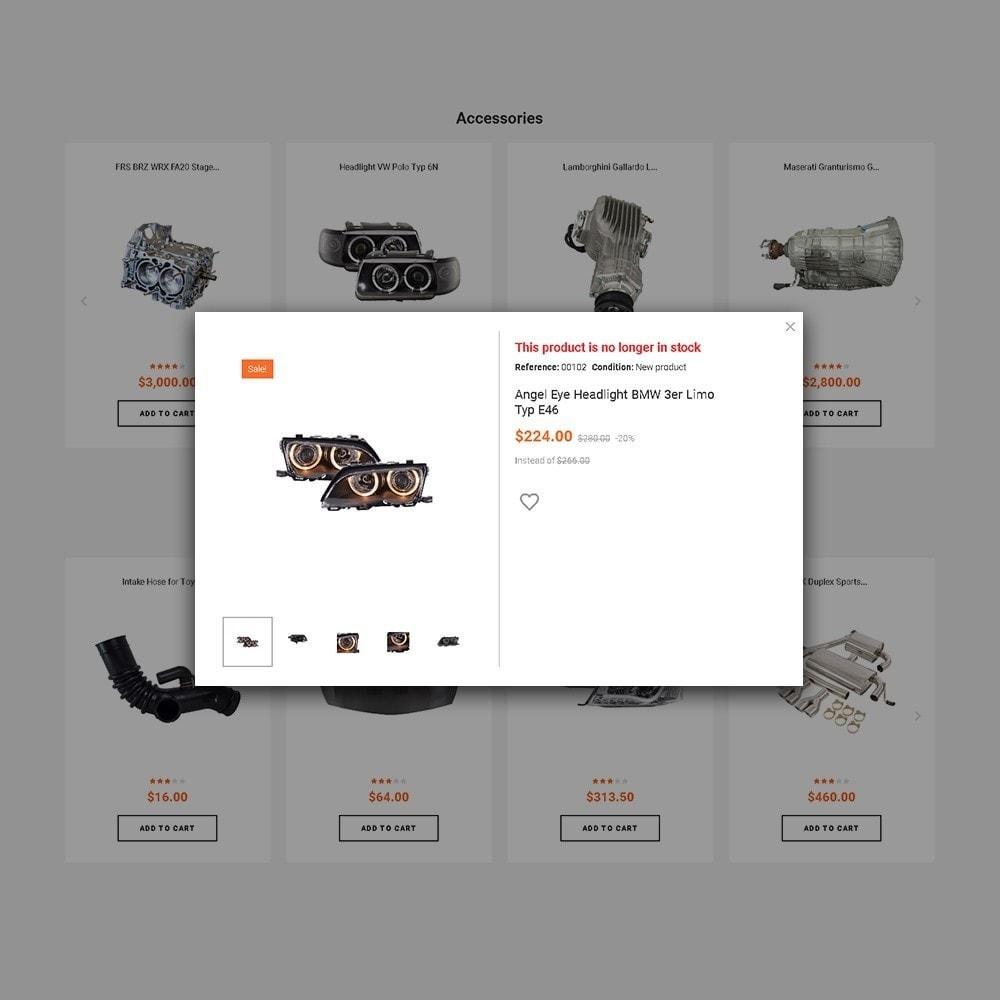 theme - Coches y Motos - Trucktun - para Sitio de Repuestos de coches - 4