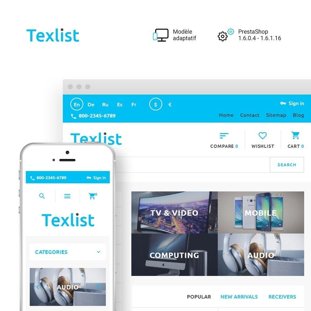 theme - Electronique & High Tech - Texlist - 1