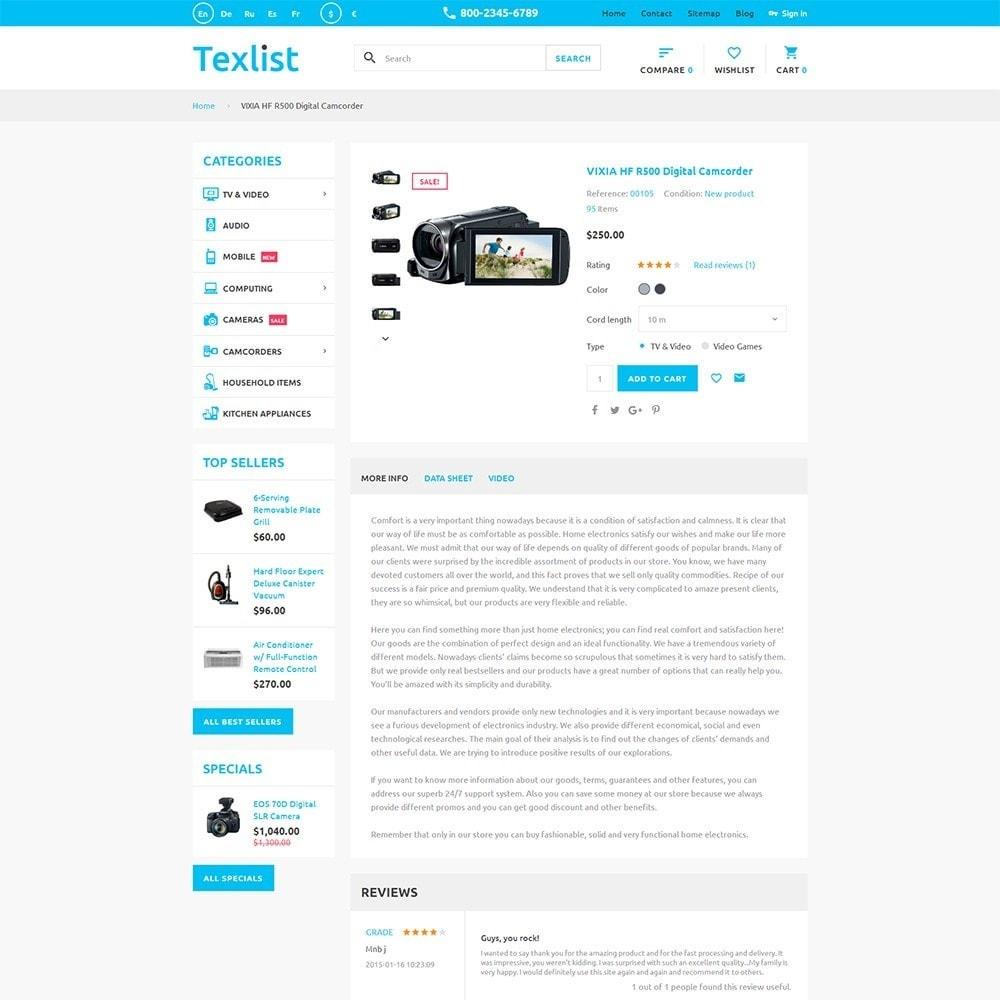 theme - Electronique & High Tech - Texlist - 3