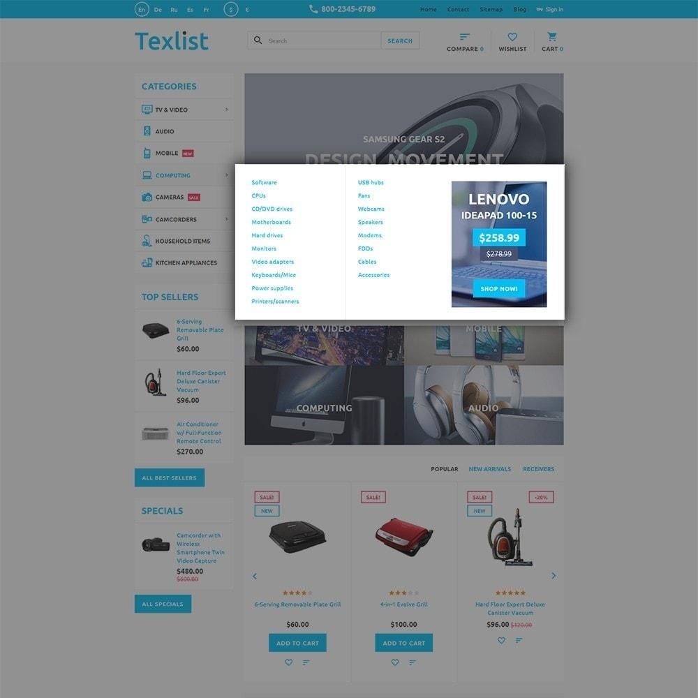 theme - Electronique & High Tech - Texlist - 5