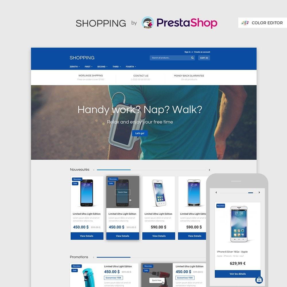 theme - Electronics & Computers - Shopping by PrestaShop - Electronic & Discount - 1