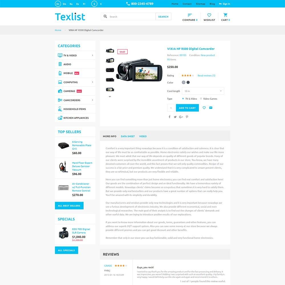 theme - Electrónica e High Tech - Texlist - 3