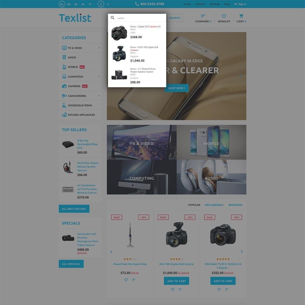 theme - Electrónica e High Tech - Texlist - 6