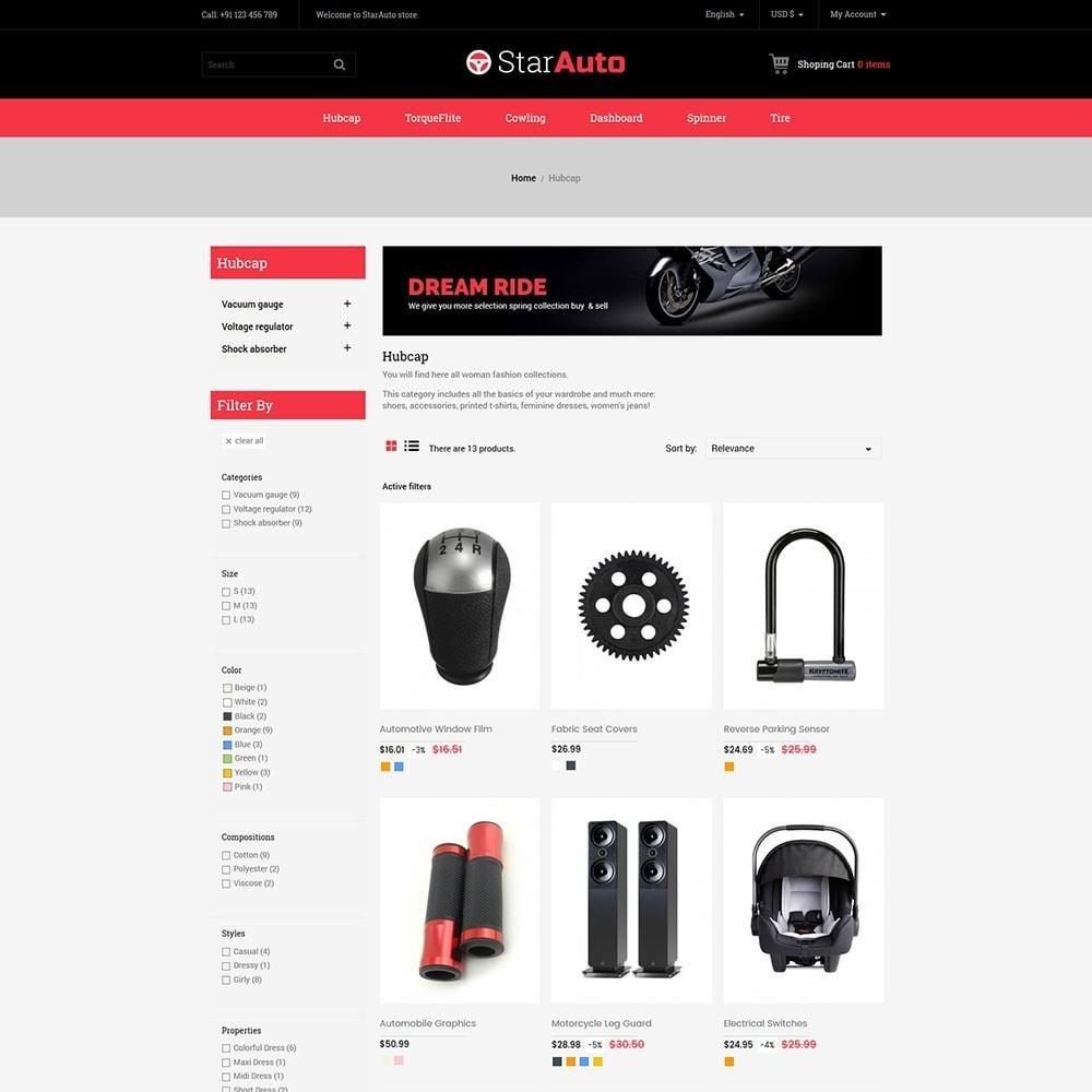 theme - Авто и Мото - Starauto - Auto Store - 3