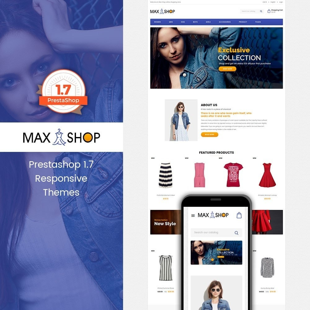 theme - Mode & Schoenen - Maxshop - Fashion Store - 1