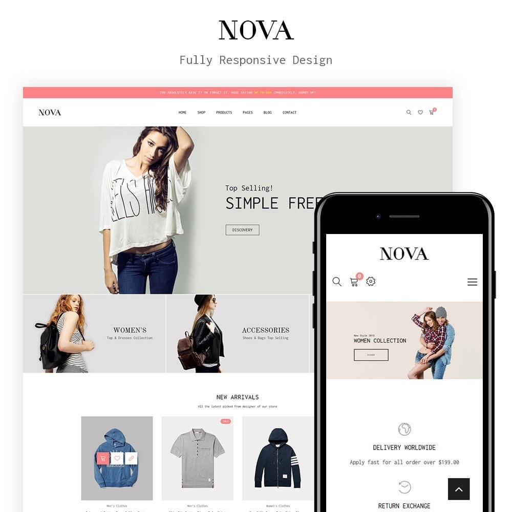 theme - Fashion & Shoes - JMS Nova - 1