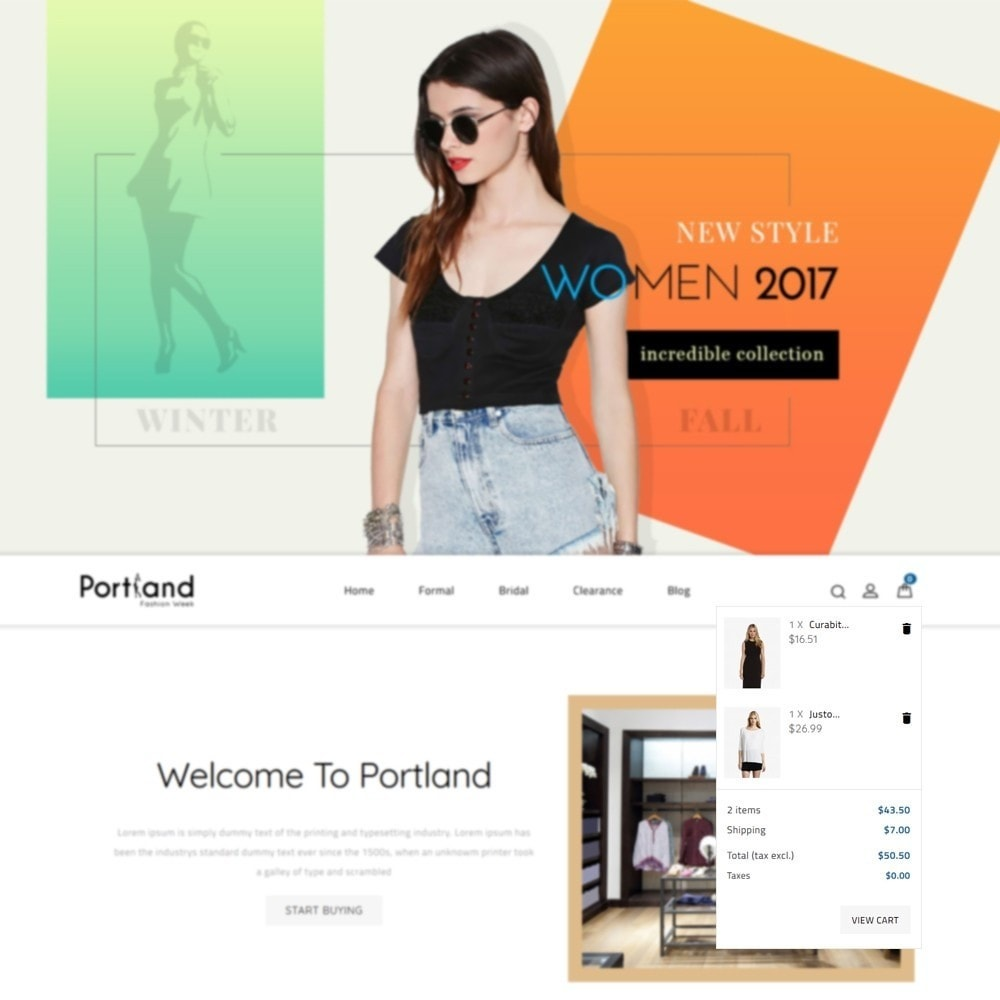 theme - Mode & Schuhe - Portland Fashion Store - 6
