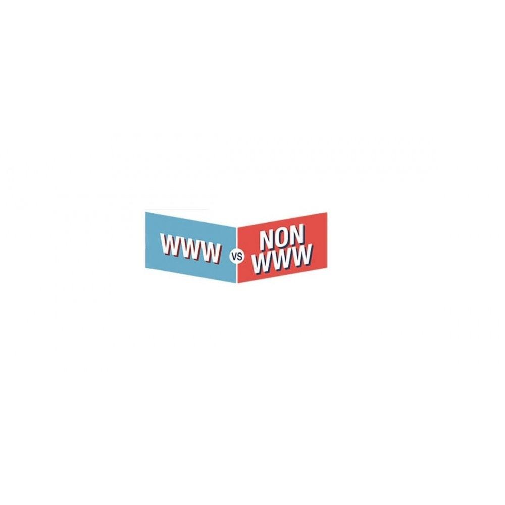 module - Gestão de URL & Redirecionamento - Redirect Non-www to www URLs  -  both  ( SEO ) - 5