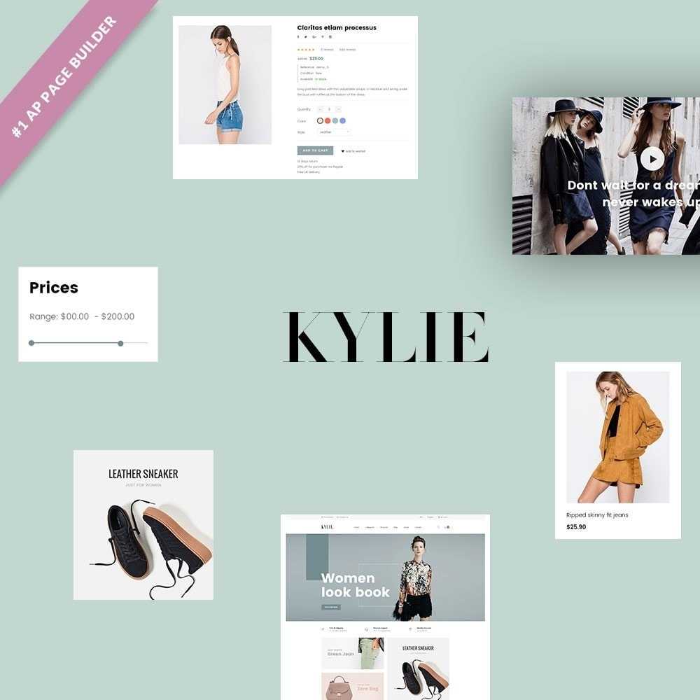 theme - Mode & Chaussures - Leo Kylie - 1