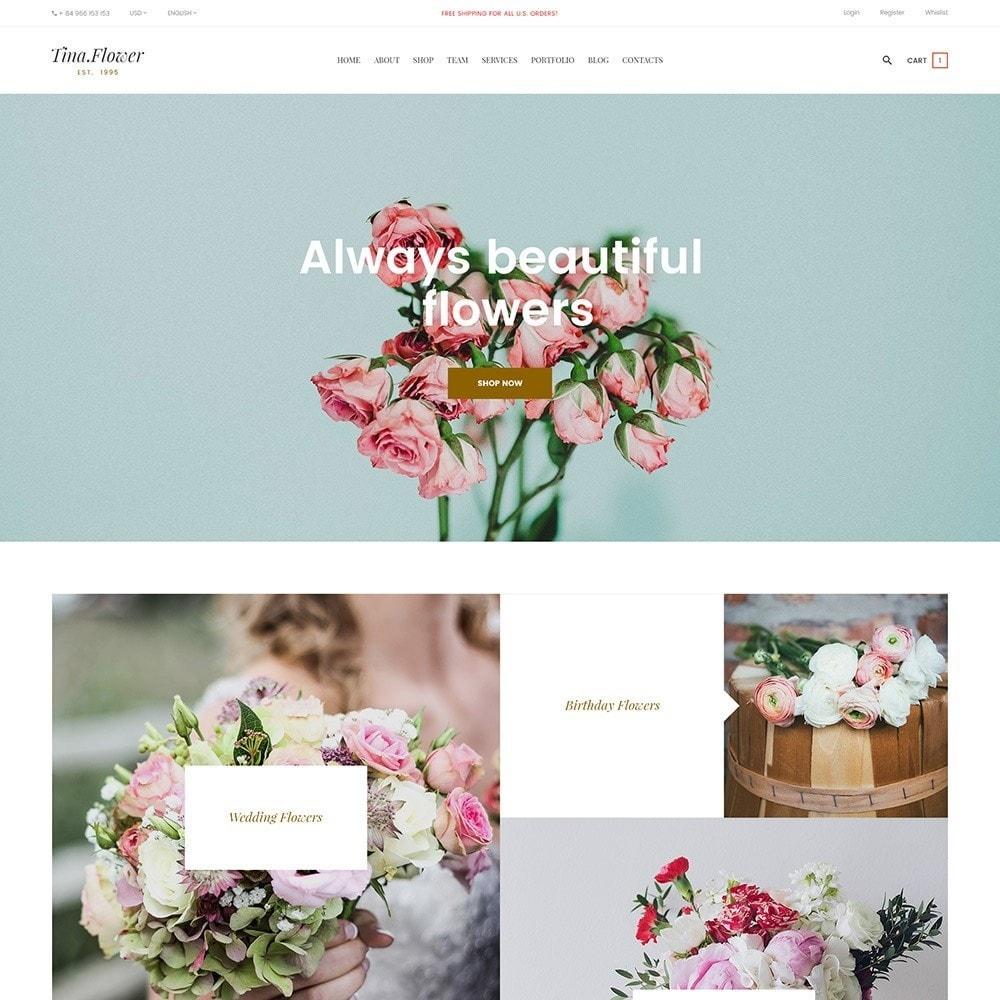 theme - Подарки, Цветы и праздничные товары - Pts Flower - 3