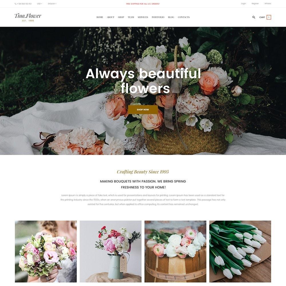 theme - Подарки, Цветы и праздничные товары - Pts Flower - 4
