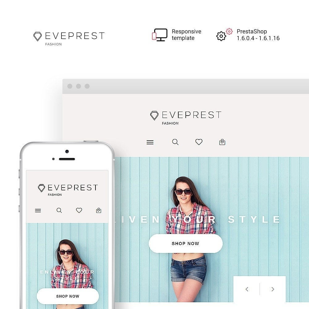theme - Mode & Schuhe - Eveprest - Fashion Boutique - 1
