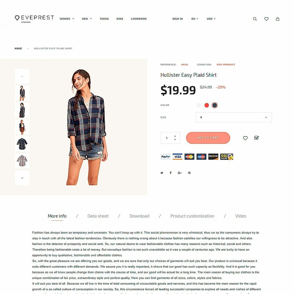 theme - Мода и обувь - Eveprest - Fashion Boutique - 3