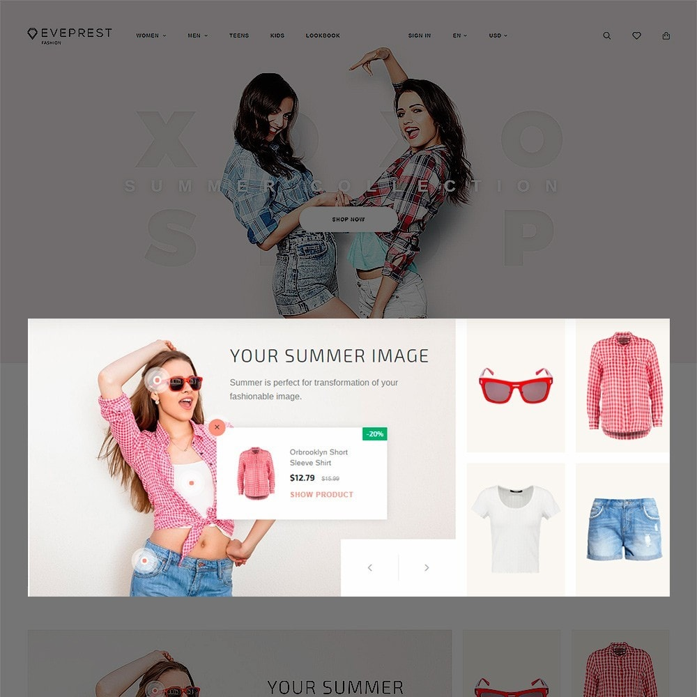 theme - Мода и обувь - Eveprest - Fashion Boutique - 4