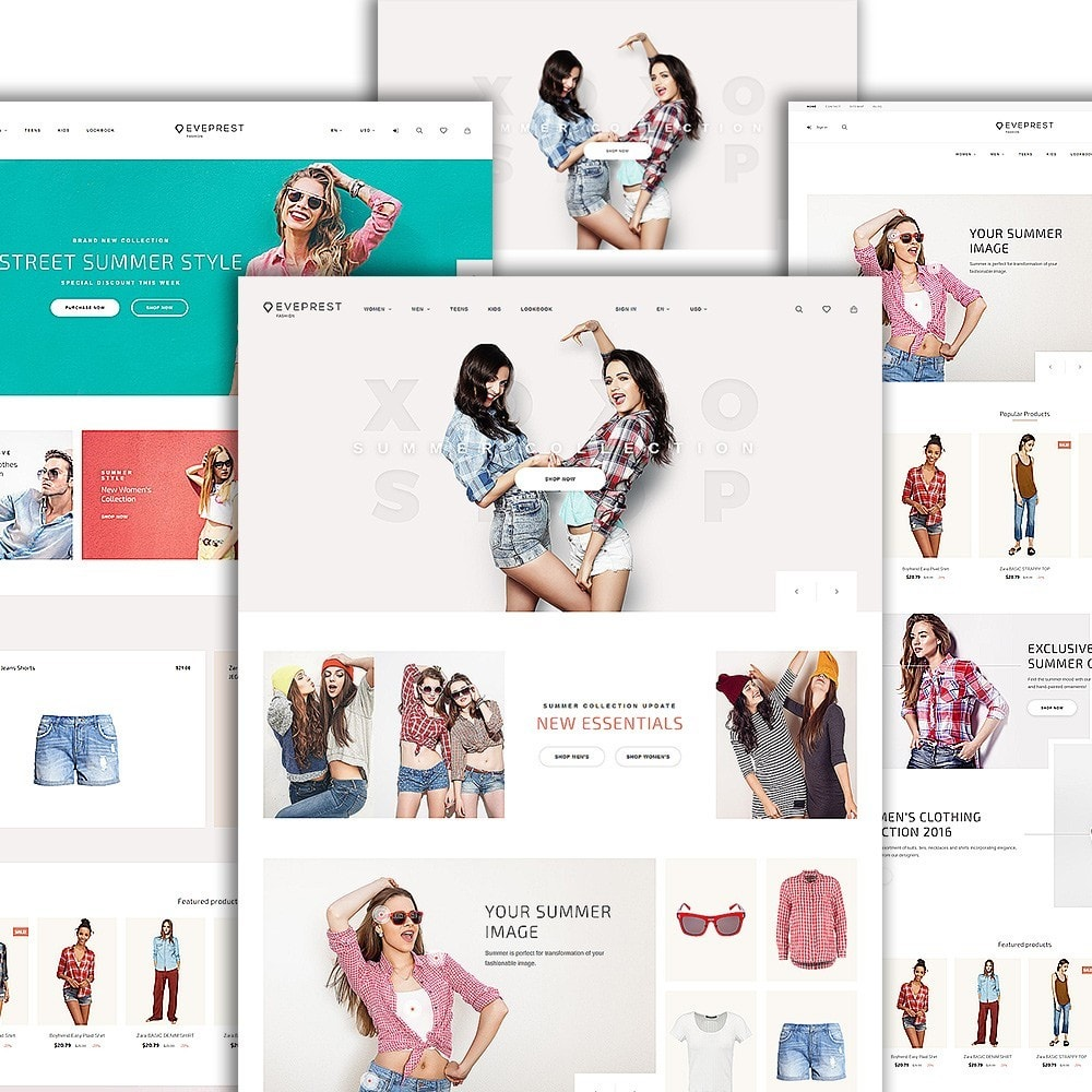theme - Moda & Calzature - Eveprest - Fashion Boutique - 2