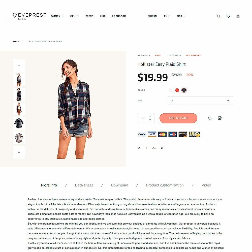 theme - Moda & Calzature - Eveprest - Fashion Boutique - 3