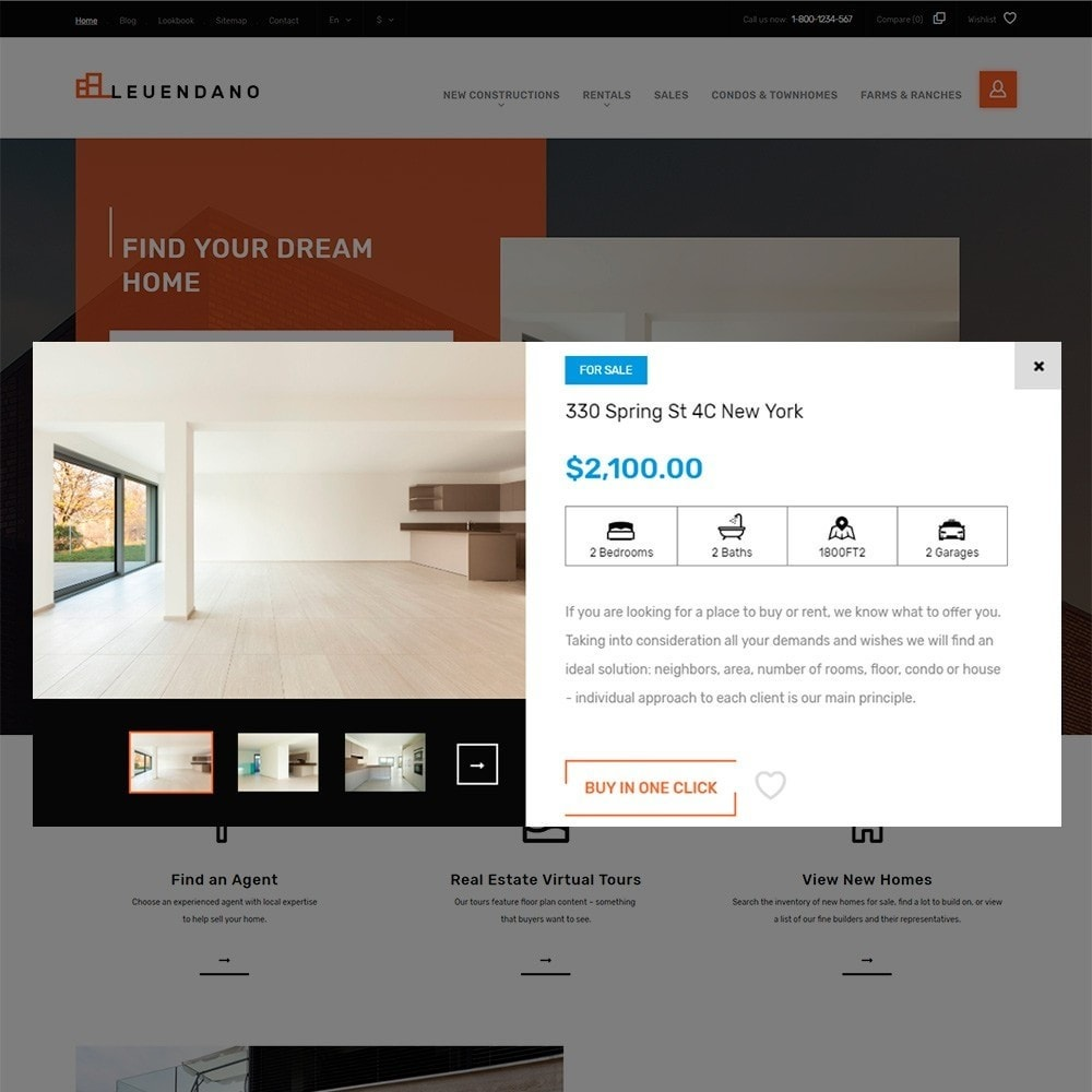 theme - Casa & Jardins - Leuendano - Real Estate Agency Responsive - 4