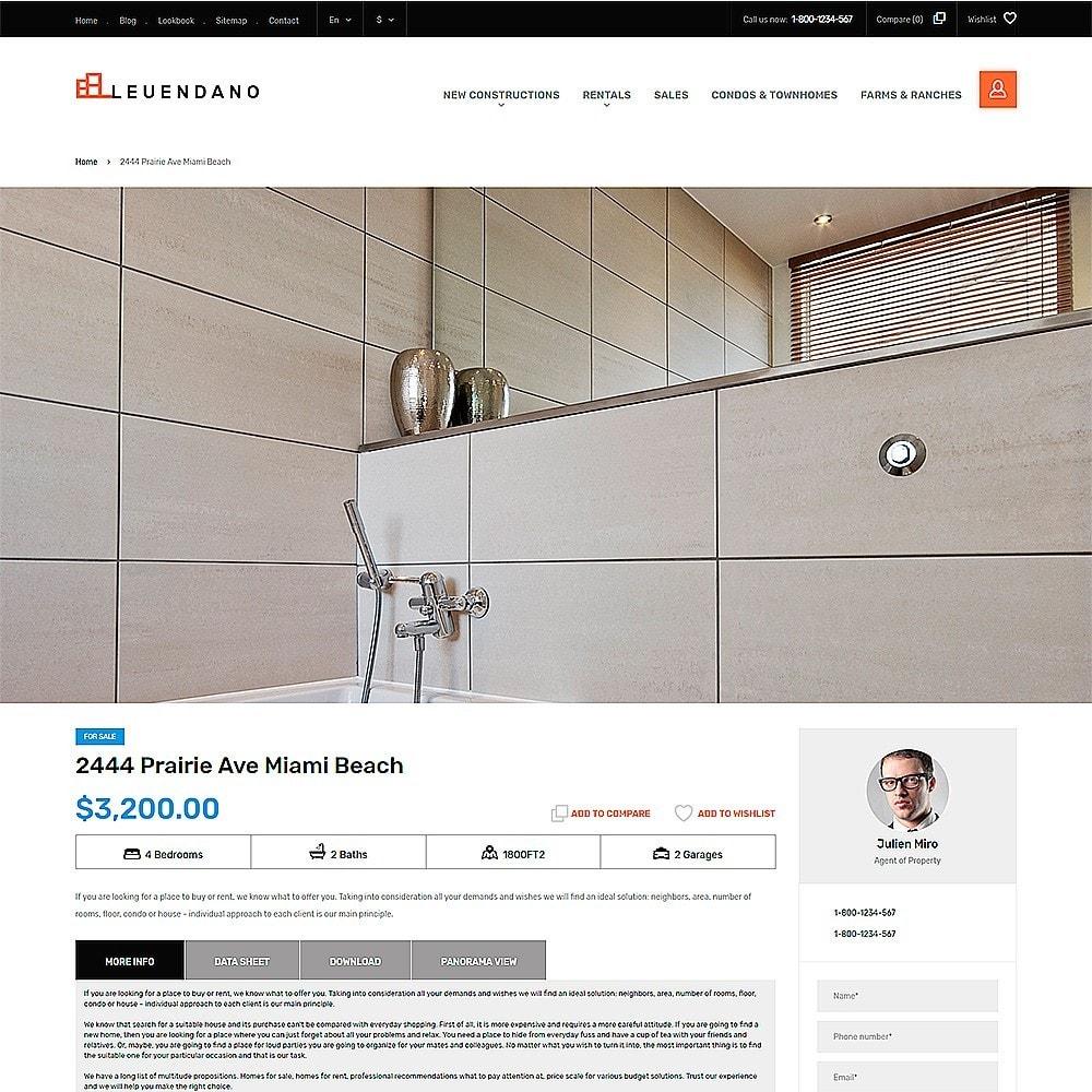 theme - Maison & Jardin - Leuendano - pour site d'agence immobilière - 3