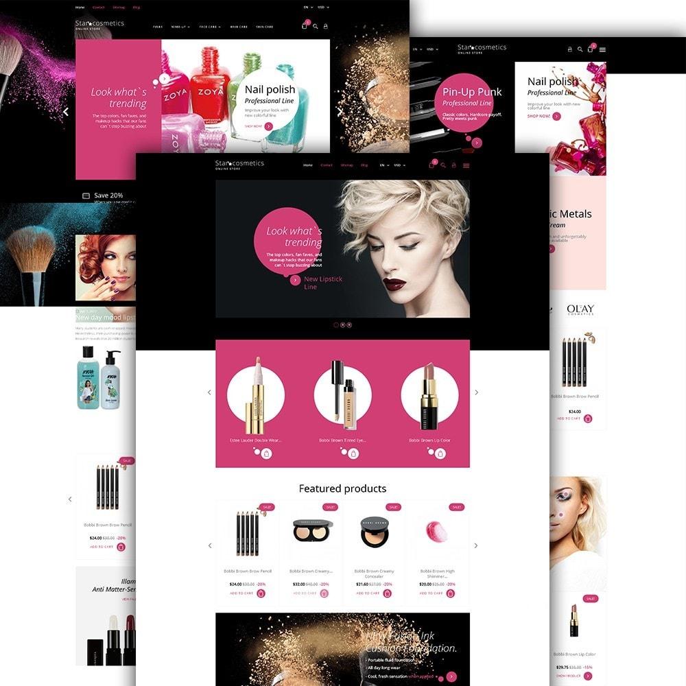 theme - Moda y Calzado - Star Cosmetics - para Sitio de Tienda de Cosméticos - 2