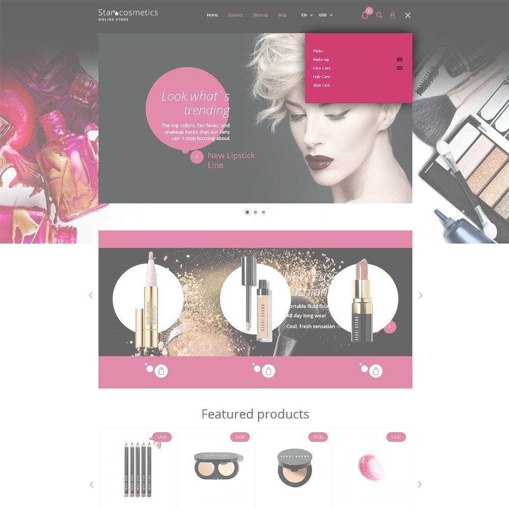 theme - Moda y Calzado - Star Cosmetics - para Sitio de Tienda de Cosméticos - 3