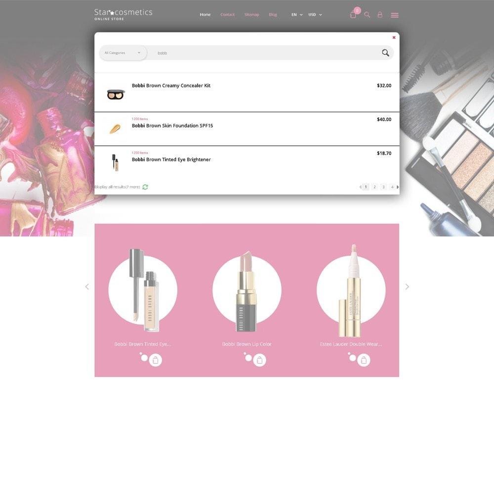 theme - Moda y Calzado - Star Cosmetics - para Sitio de Tienda de Cosméticos - 5