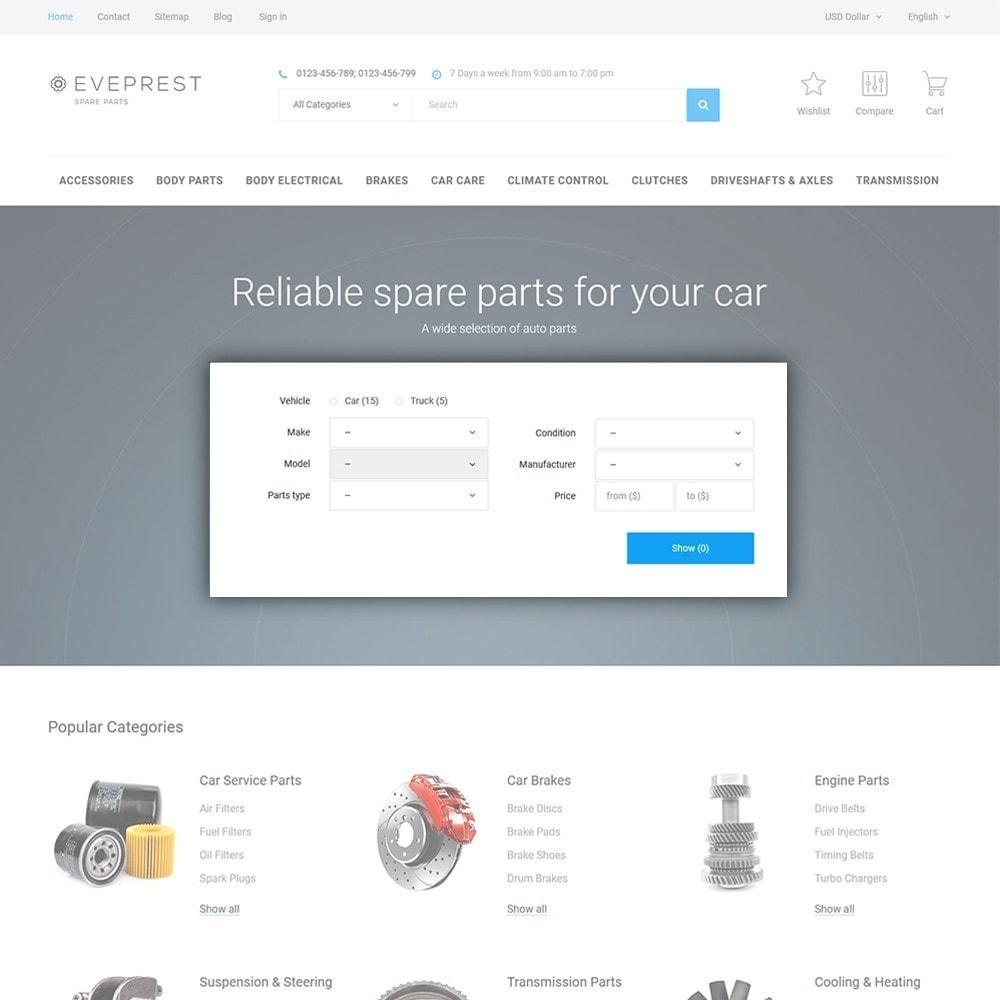 theme - Auto & Moto - Eveprest - Spare Parts - 4