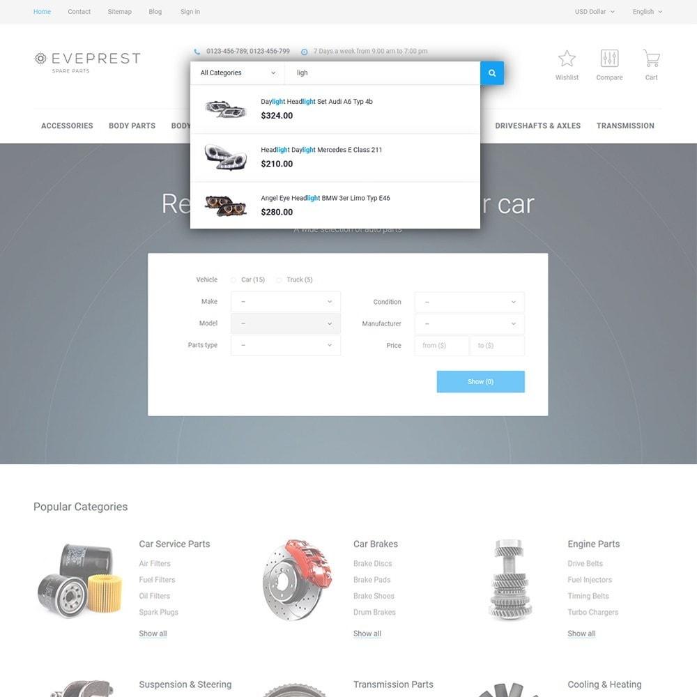 theme - Auto & Moto - Eveprest - Spare Parts - 6