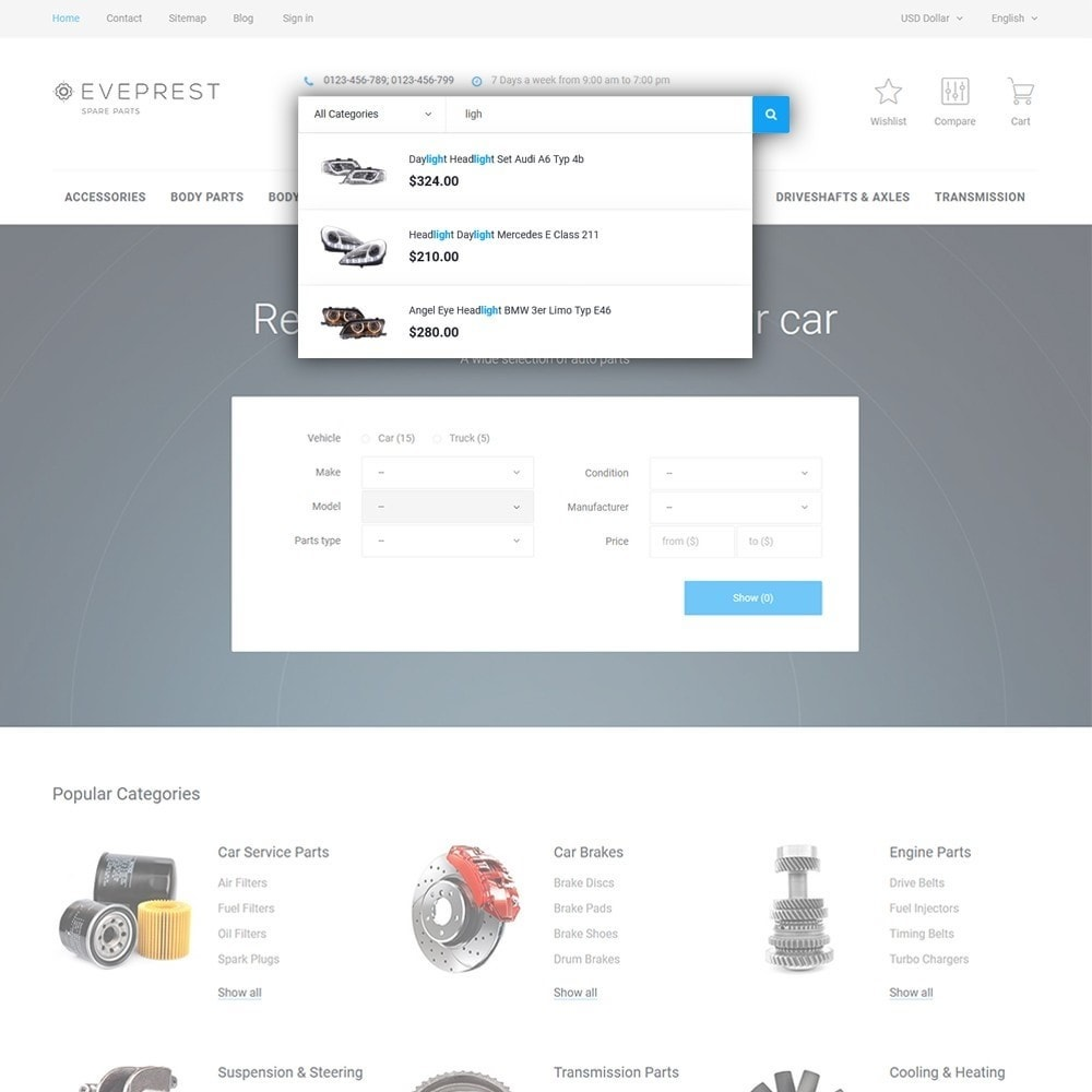 theme - Samochody - Eveprest - Spare Parts - 6