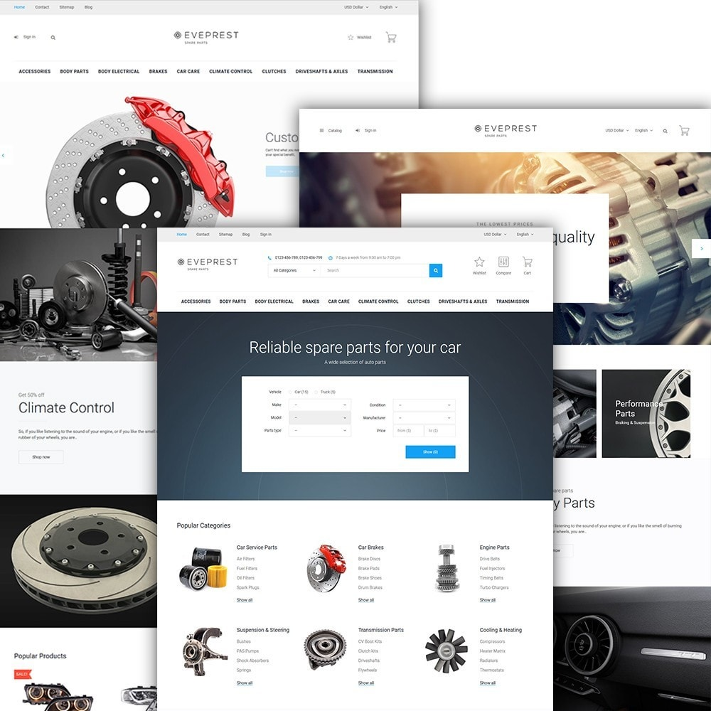 theme - Coches y Motos - Eveprest - Spare Parts - 2