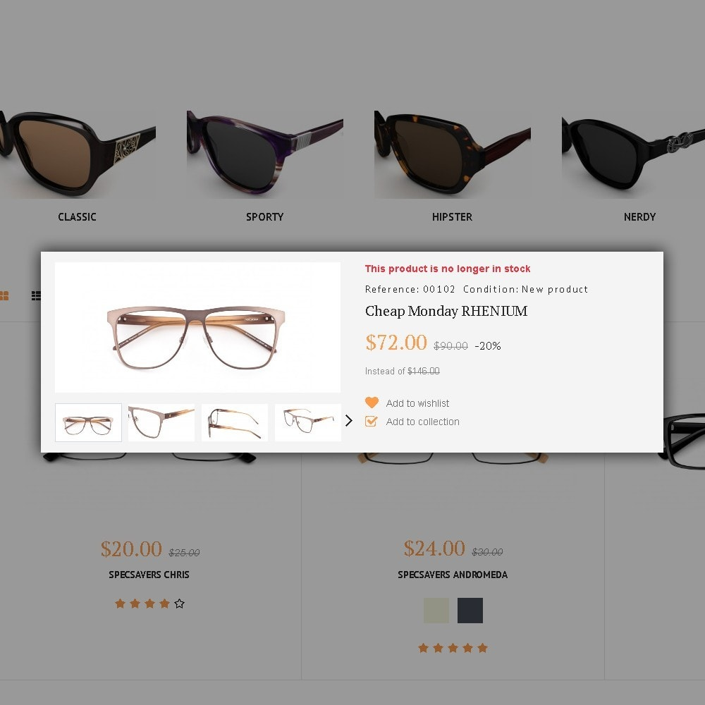 theme - Moda & Obuwie - Glassini - Glasses Store - 4